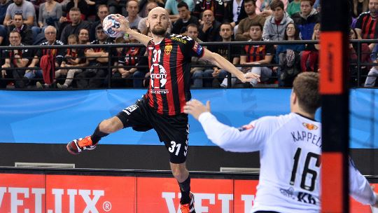 European club handball enters winter break on a high