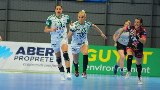 Györ stave off Brest to extend record unbeaten streak