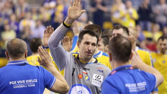 "Szmal: ""Results prove that Kielce are getting better and better"""