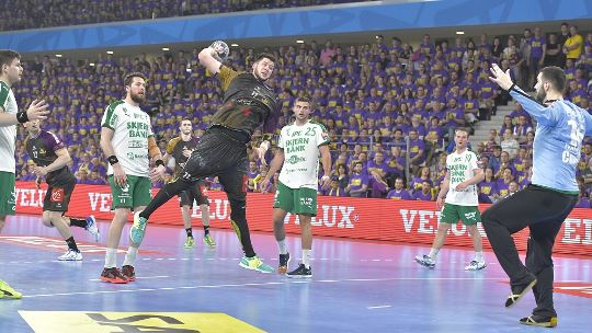 Nantes' giant living childhood dream at FINAL4