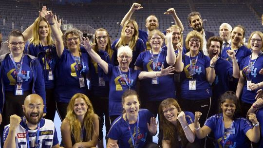 Volunteer and become part of the VELUX EHF FINAL4 anniversary
