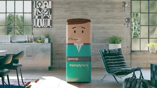 Gorenje offers club-branded fridge for the most creative handball fan