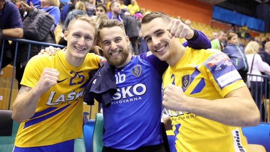 Skjern and Zaporozhye snatch away points, Celje control Zagreb