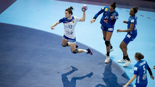 Which 10 Champions League players excelled at the EHF EURO?