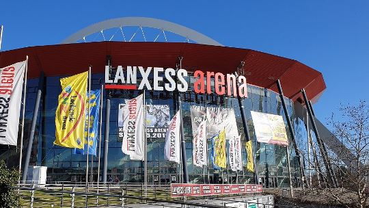 LANXESS arena clear at the top again in 2018