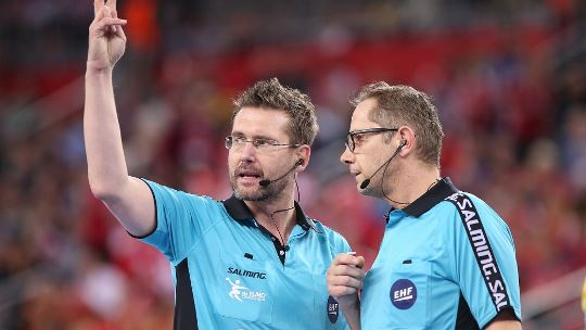 German referees Geipel and Helbig to lead final in Cologne