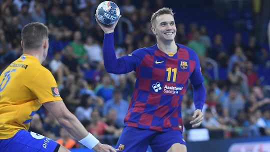 """Barça's Andersson wary of """"fresh and determined"""" Flensburg"""