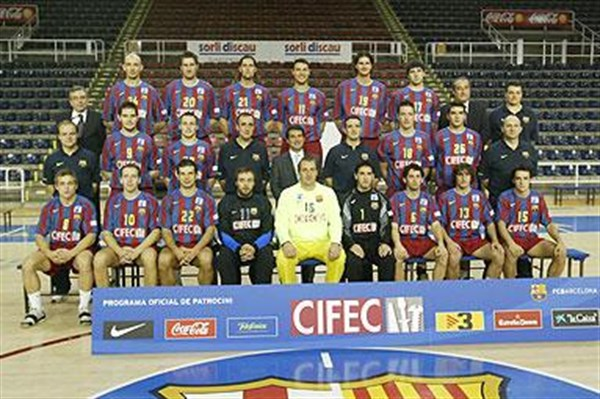 EHF Champions League 2005/06 > Clubs > FC Barcelona-Cifec