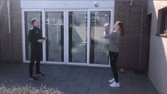 Fitness and beyond as handball at home continues