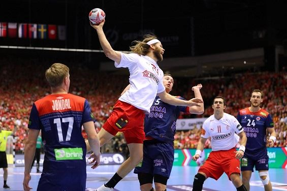 Impressive Denmark Down Norway For First World Title